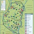mapa tematico de entre rios