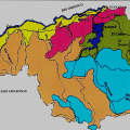mapa topografico de bolivar