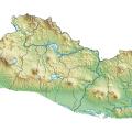 mapa topografico de el salvador