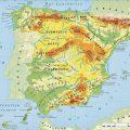mapa topografico de espana