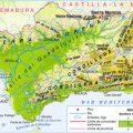 mapa topografico de malaga