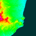 mapa topografico de mar del plata