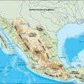 mapa topografico de mesoamerica