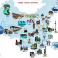 mapa turistico de China