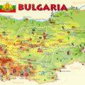 mapa turistico de bulgaria