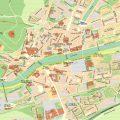 mapa turistico de burgos