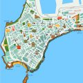 mapa turistico de cadiz