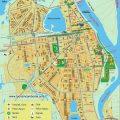 mapa turistico de cali