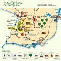 mapa turistico de paraguay