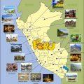 mapa turistico de peru