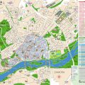 mapa turistico de zamora